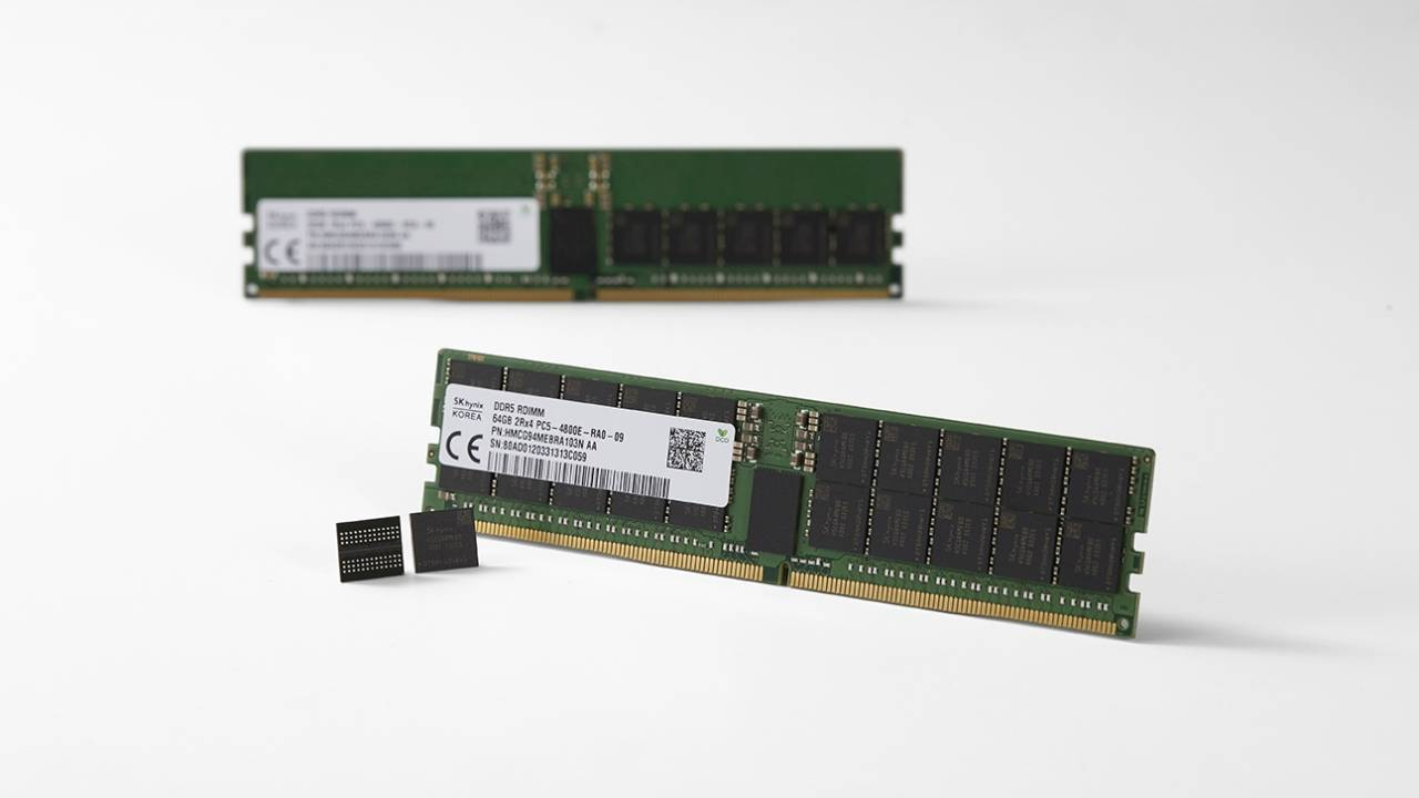 SK Hynix DDR5 RAM might still be a year away