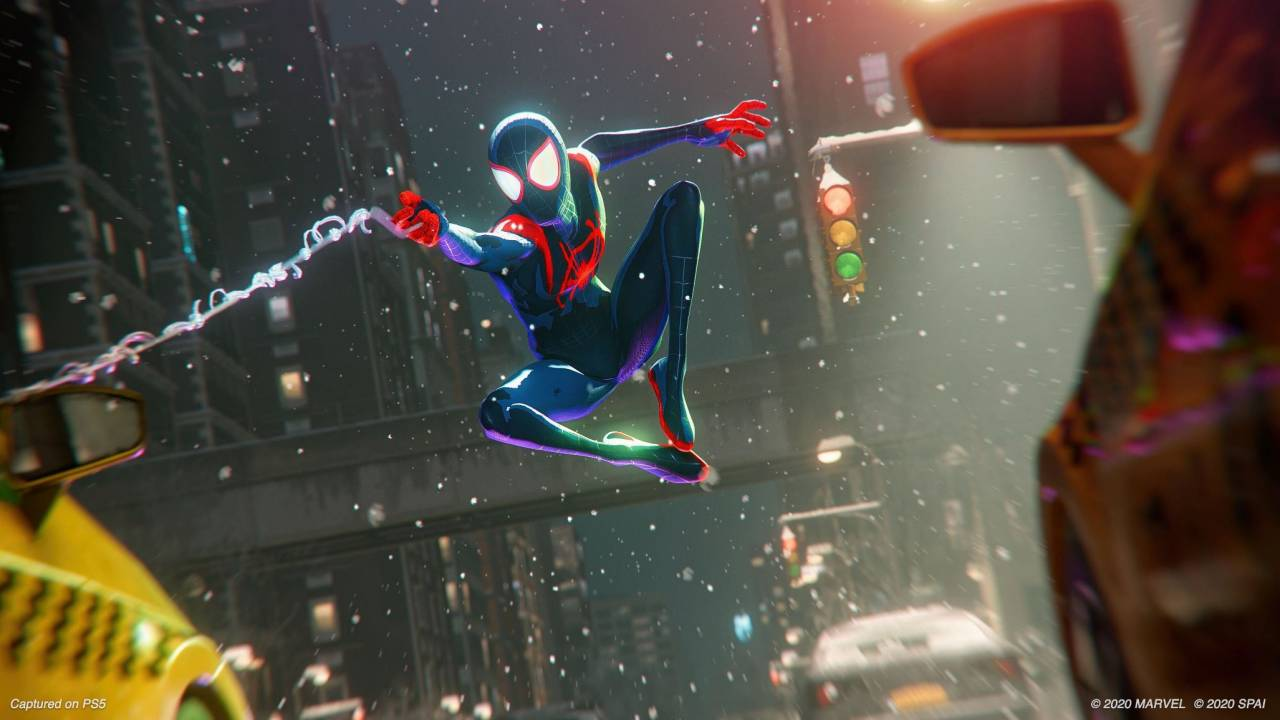Spider-Man: Miles Morales Spider-Verse costume has its own unique animation