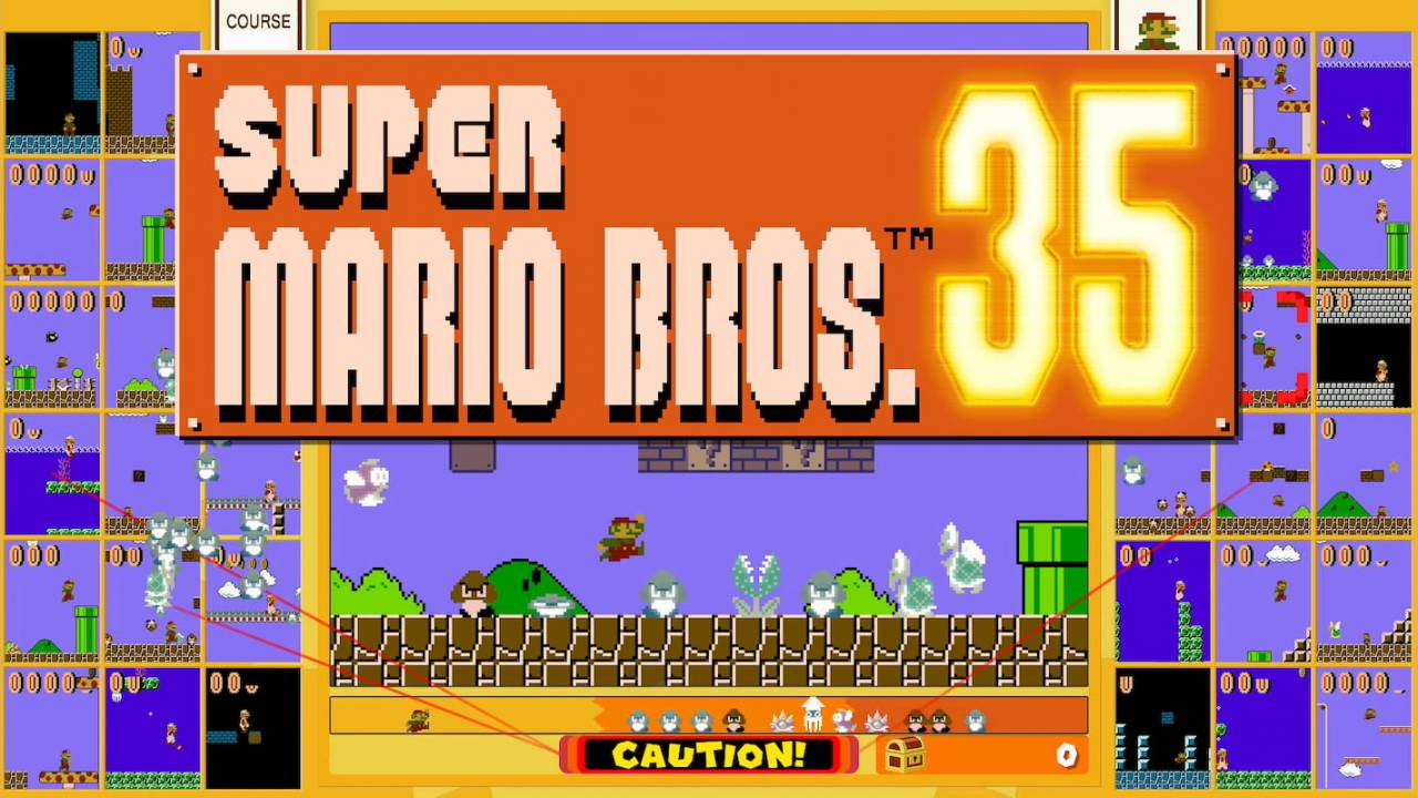 Super Mario Bros 35 now available on Switch – but act fast