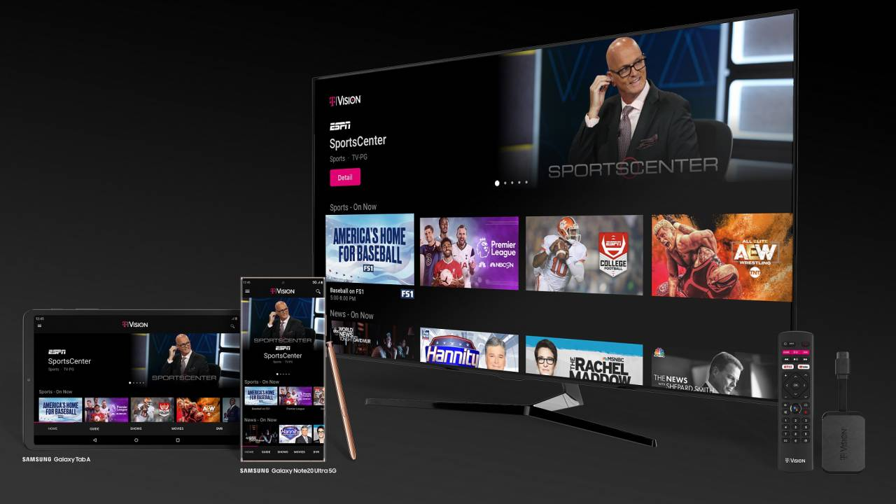 T-Mobile TVision gives cord-cutters another live streaming TV option