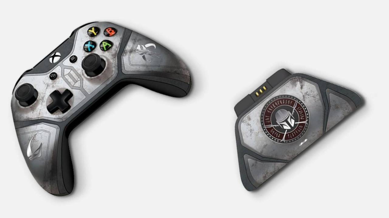 This Mandalorian Xbox One controller costs a lot of money