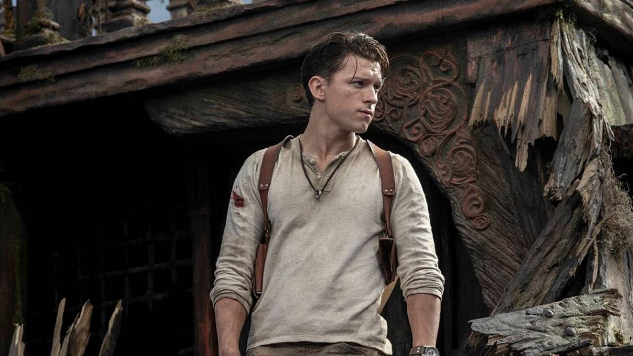 This is the first image of Tom Holland as Uncharted's Nathan Drake