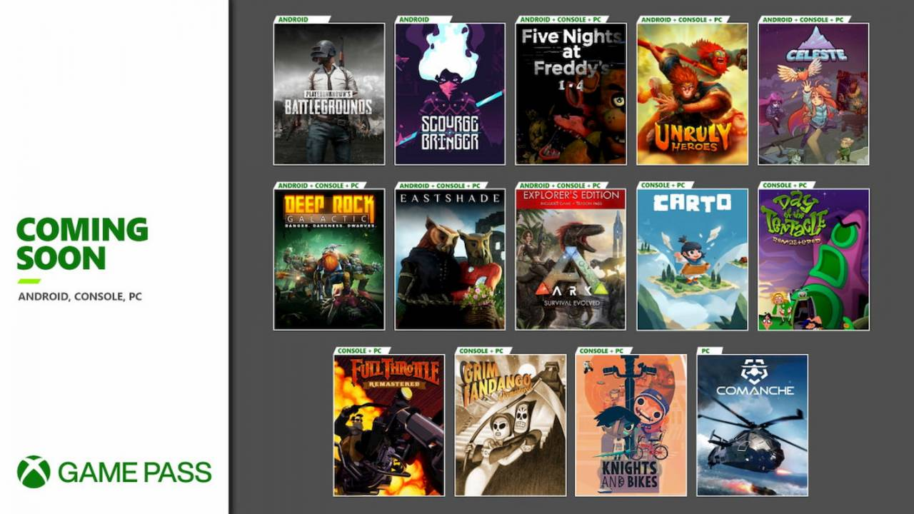 Xbox Game Pass is about to get a ton of games
