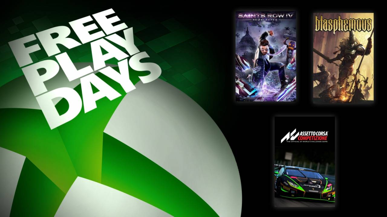 Xbox One Free Play Days serves up three very different games this weekend