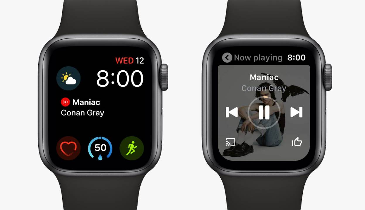 YouTube Music lands on Apple Watch as WearOS shows signs of life