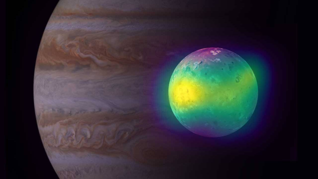 ALMA detects direct evidence of volcanic activity in Io's atmosphere