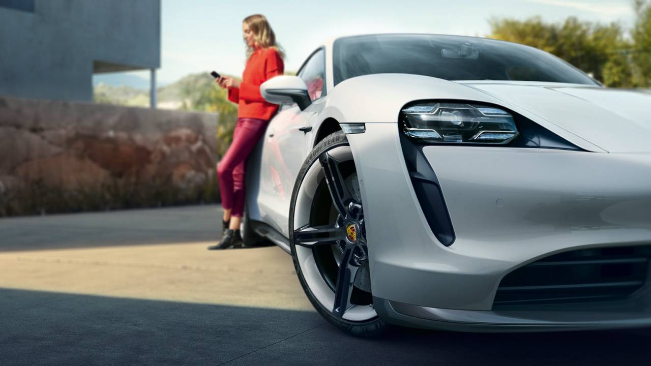 Porsche's Taycan EV just became the perfect Carpool Karaoke car