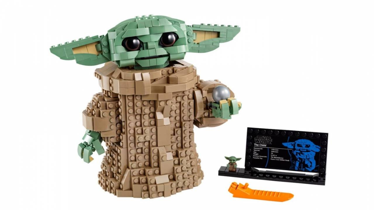 LEGO 'The Child' baby Yoda collectible set finally arrives this week