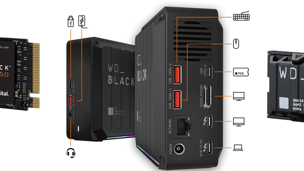 WD_BLACK expands with gaming dock SSD, PCIe Gen4 for gaming
