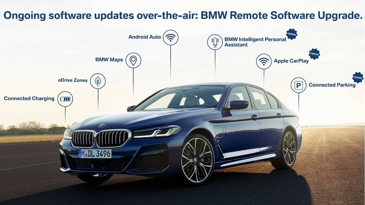 Free BMW Operating System 7 update adds features over-the-air