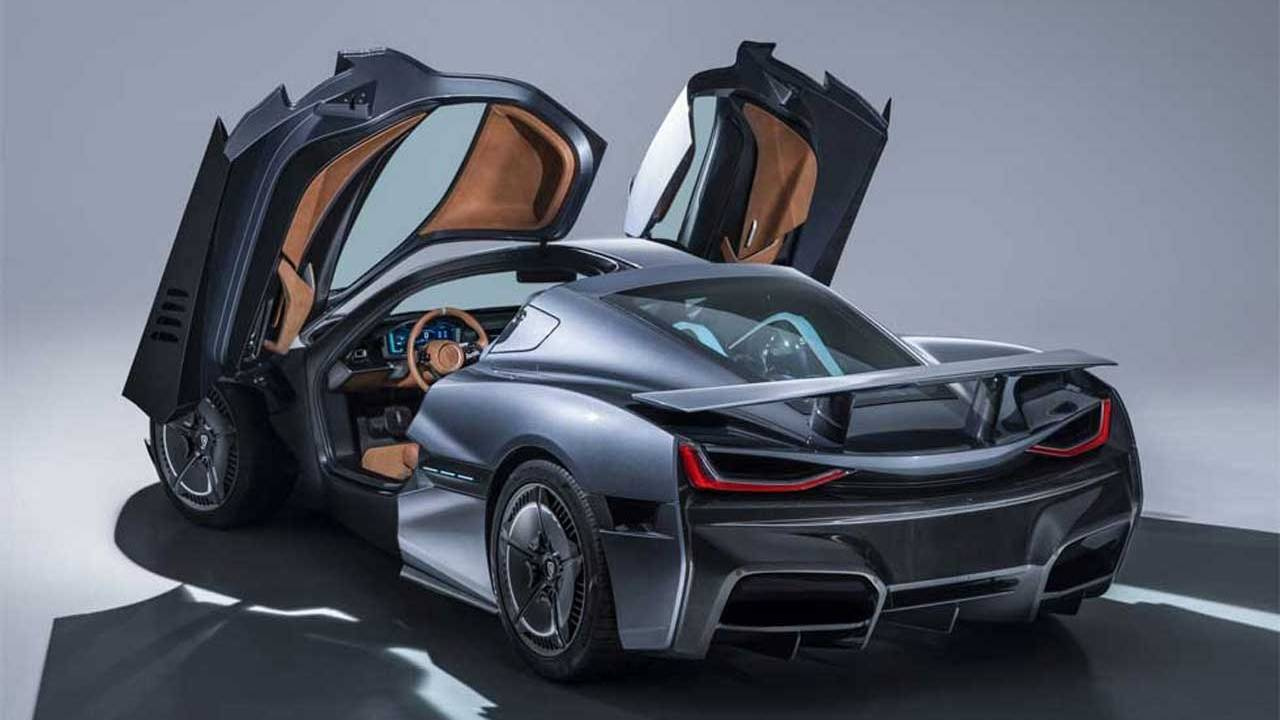 Watch a Rimac C_Two get totaled on purpose