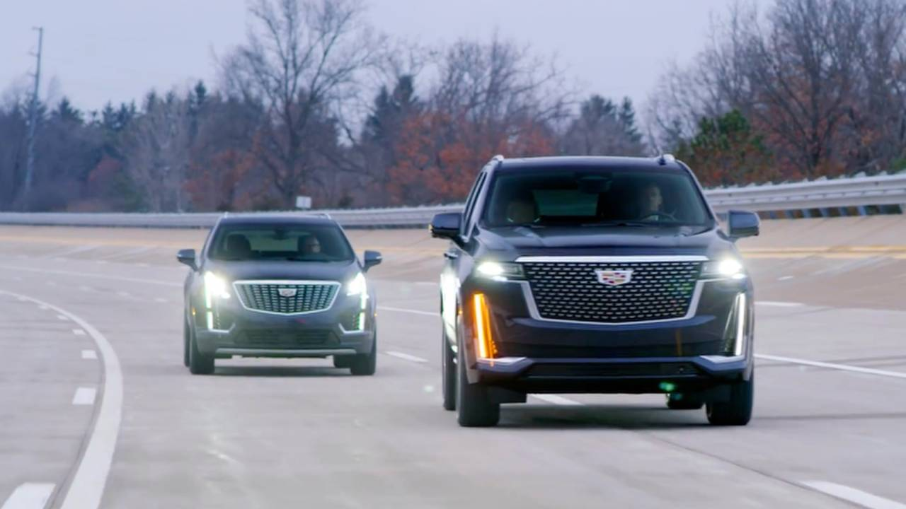 Cadillac Enhanced Super Cruise First Ride – 2021 Escalade, take the wheel