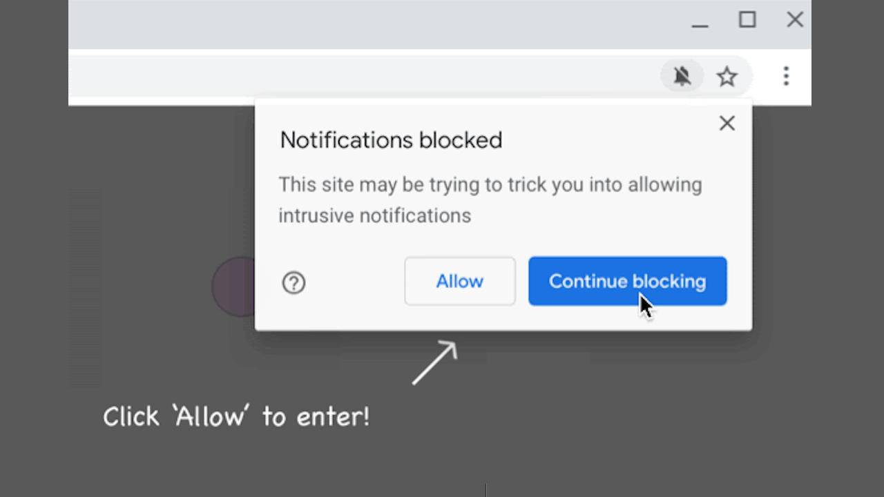 Chrome 86 will block sites abusive notification content by default