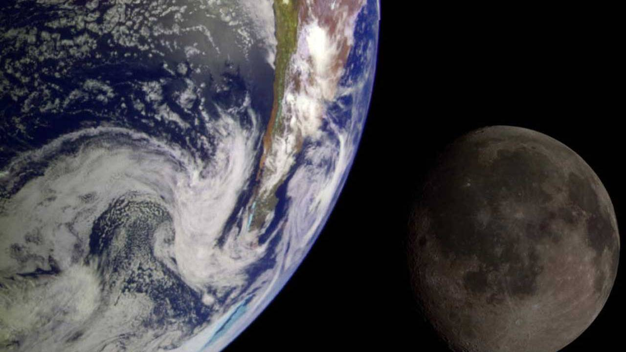 The Earth and Moon once shared a protective magnetic field