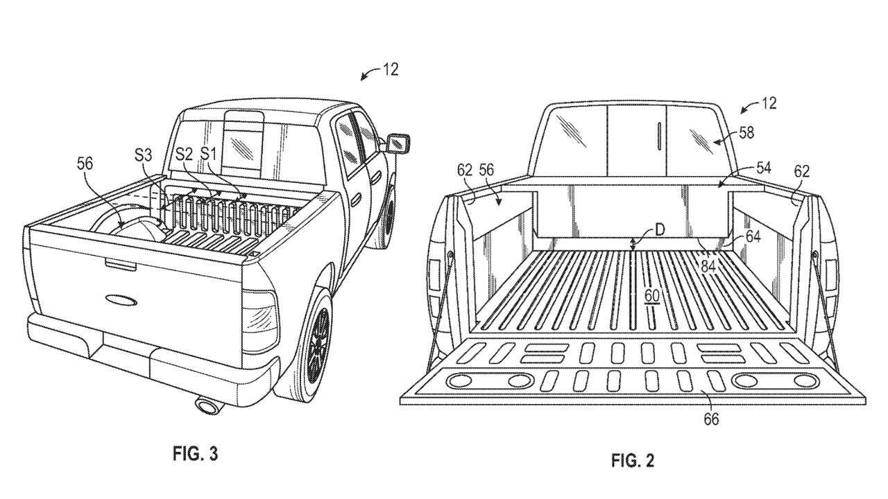 Ford patent drawings hint at range extender for electric F-150 truck