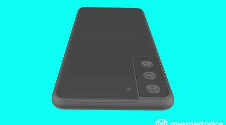 Galaxy S21+ renders cement the odd new design
