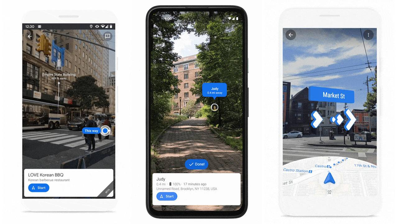 Google Maps Live View to soon show landmarks, share locations on mobile