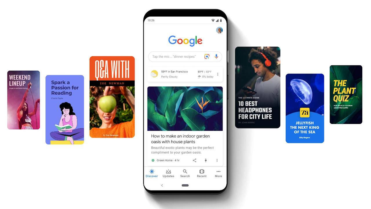 Google Web Stories to become more prominent on mobile