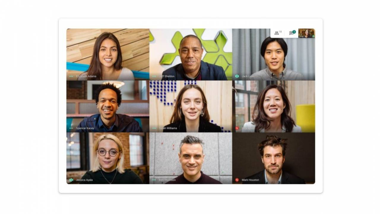 Google Meet on web finally gets custom virtual background support