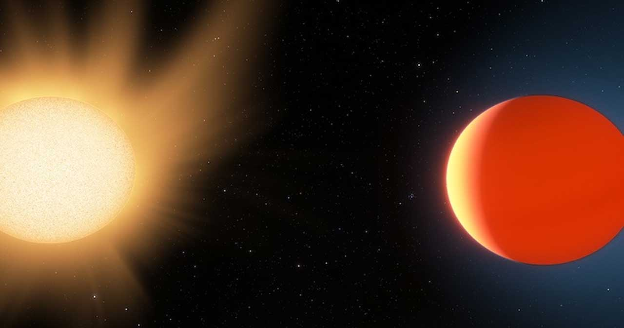 "Researchers study the atmosphere of distant ""hot Neptune"" planet"
