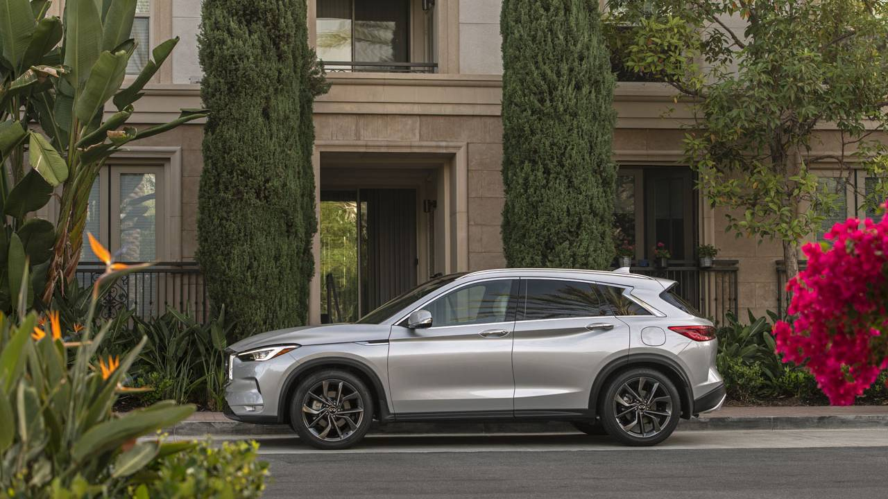 2021 Infiniti QX50 comes with new standard content and more safety features