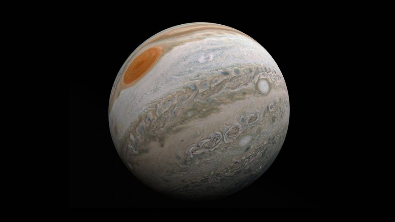 NASA shares cinematic Jupiter flyby video made by citizen scientist