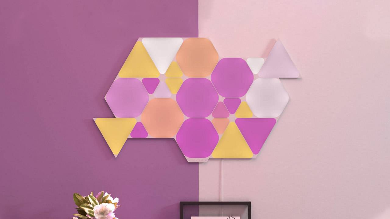 Nanoleaf Mini Triangles expand HomeKit-enabled light panel line by shrinking