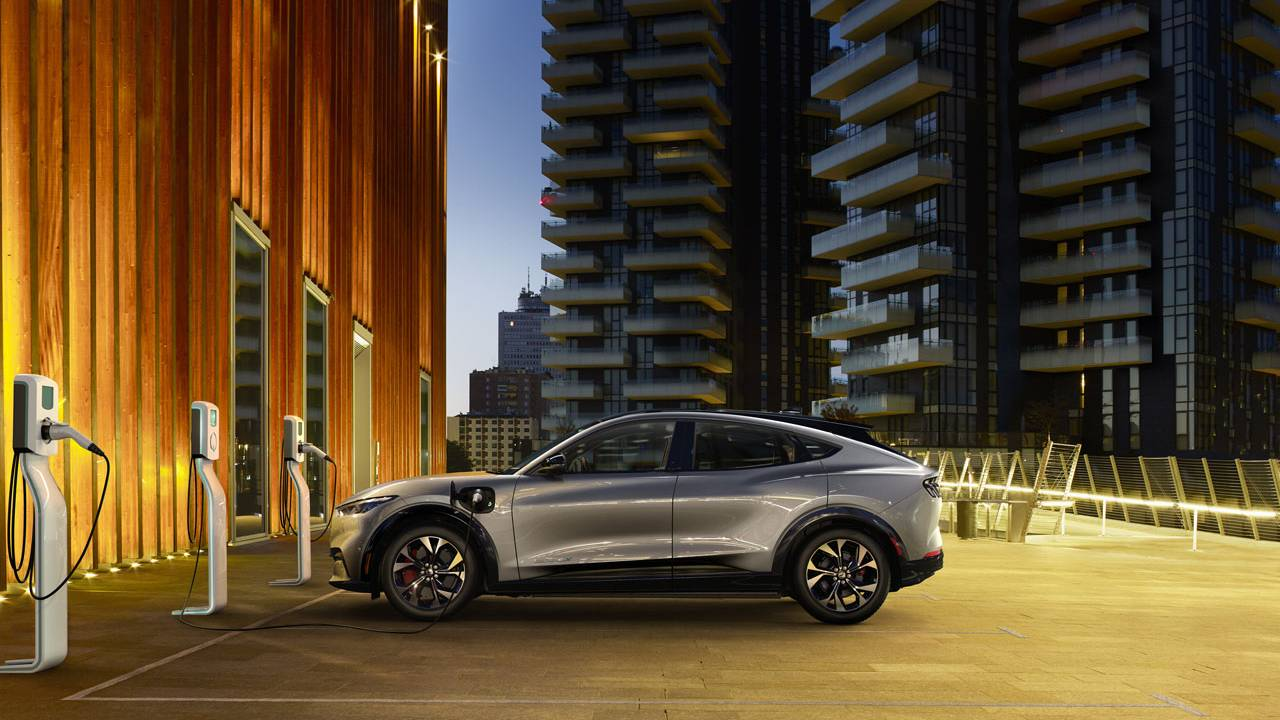 Ford announces European partnerships for Mach-E charging infrastructure