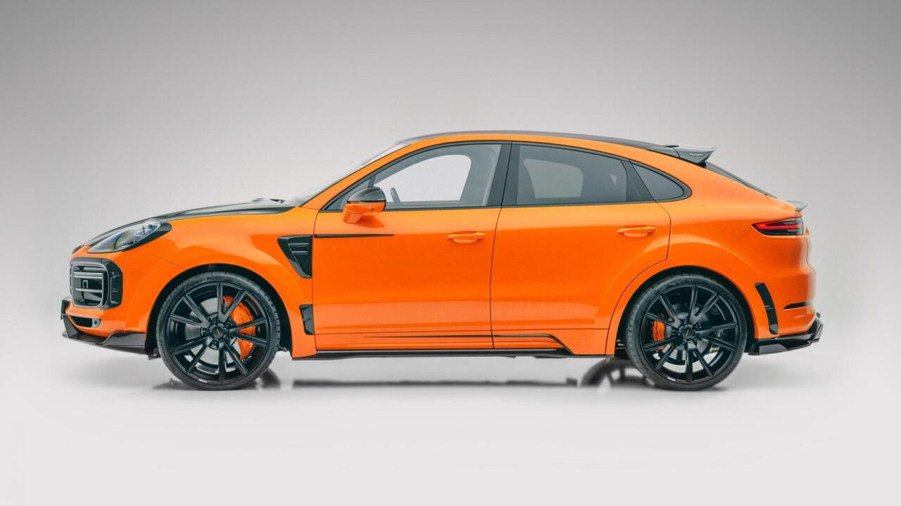 Mansory infuses Porsche Cayenne and Cayenne Coupe with more power and lots of carbon-fiber