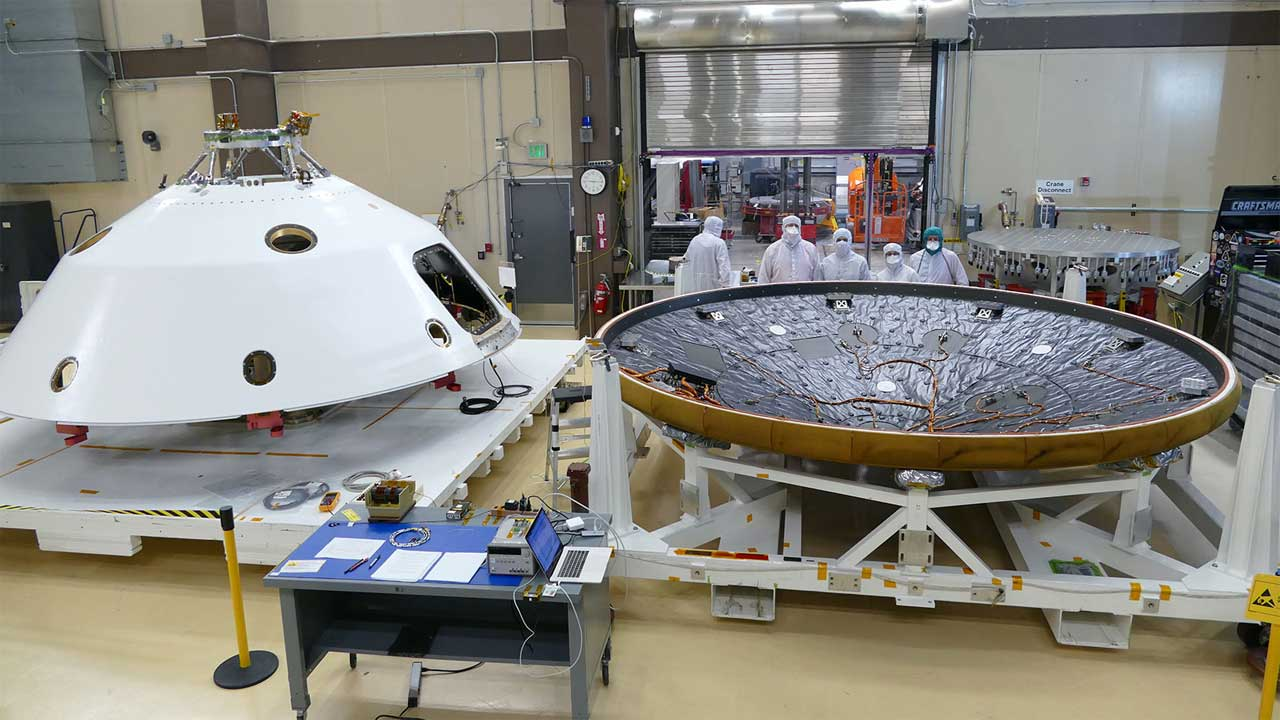 Mars 2020 spacecraft MEDLI2 sensors respond to NASA's call