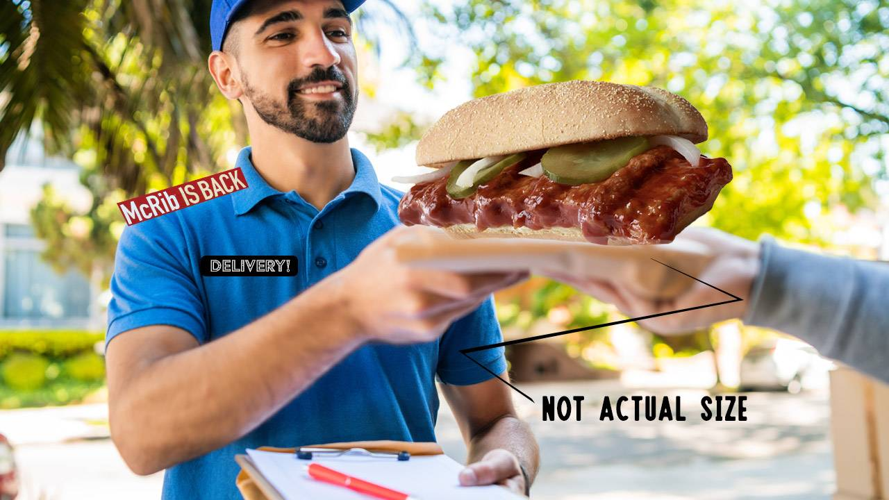 McDonald's McRib is back, with delivery – When and where in 2020