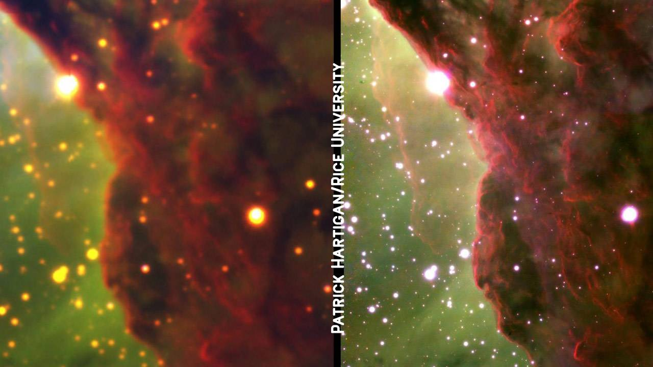 Gemini South telescope nebula photos tease Webb potential