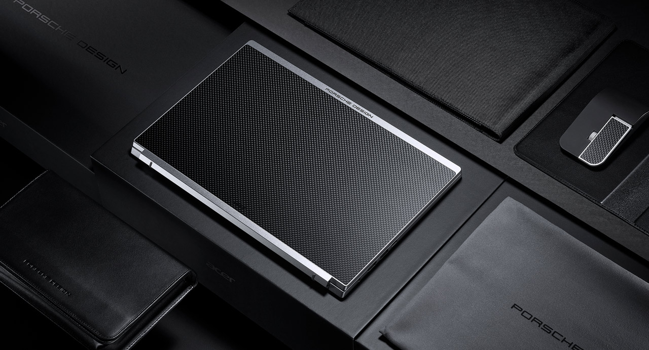 Porsche Design Acer Book RS made with fancy movement and materials