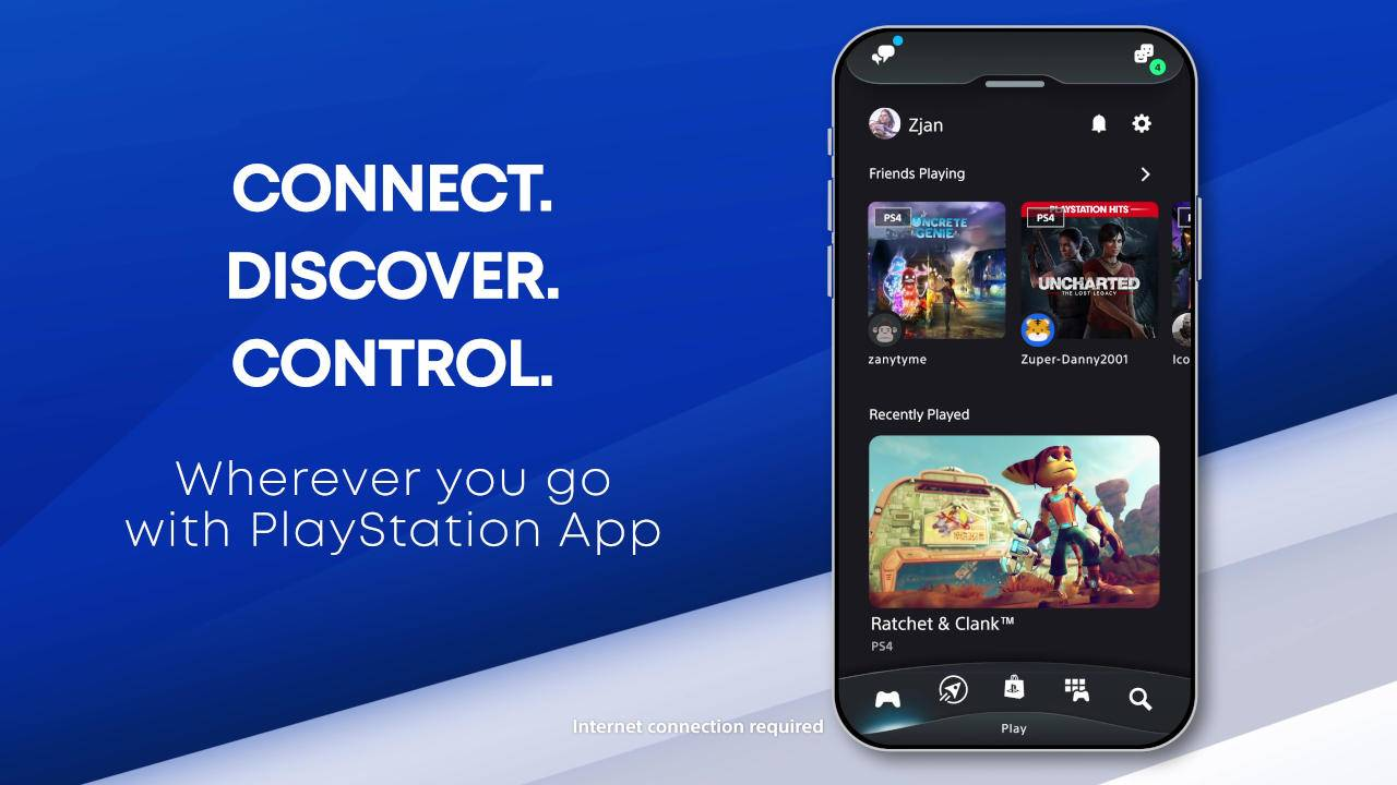 PlayStation App gets a new look, voice chat, remote PS5 control