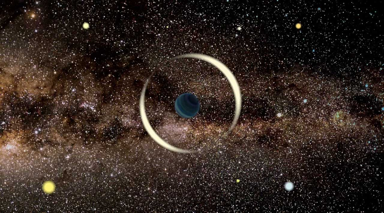 Astronomers discover the smallest rogue planet yet zipping through the Milky Way