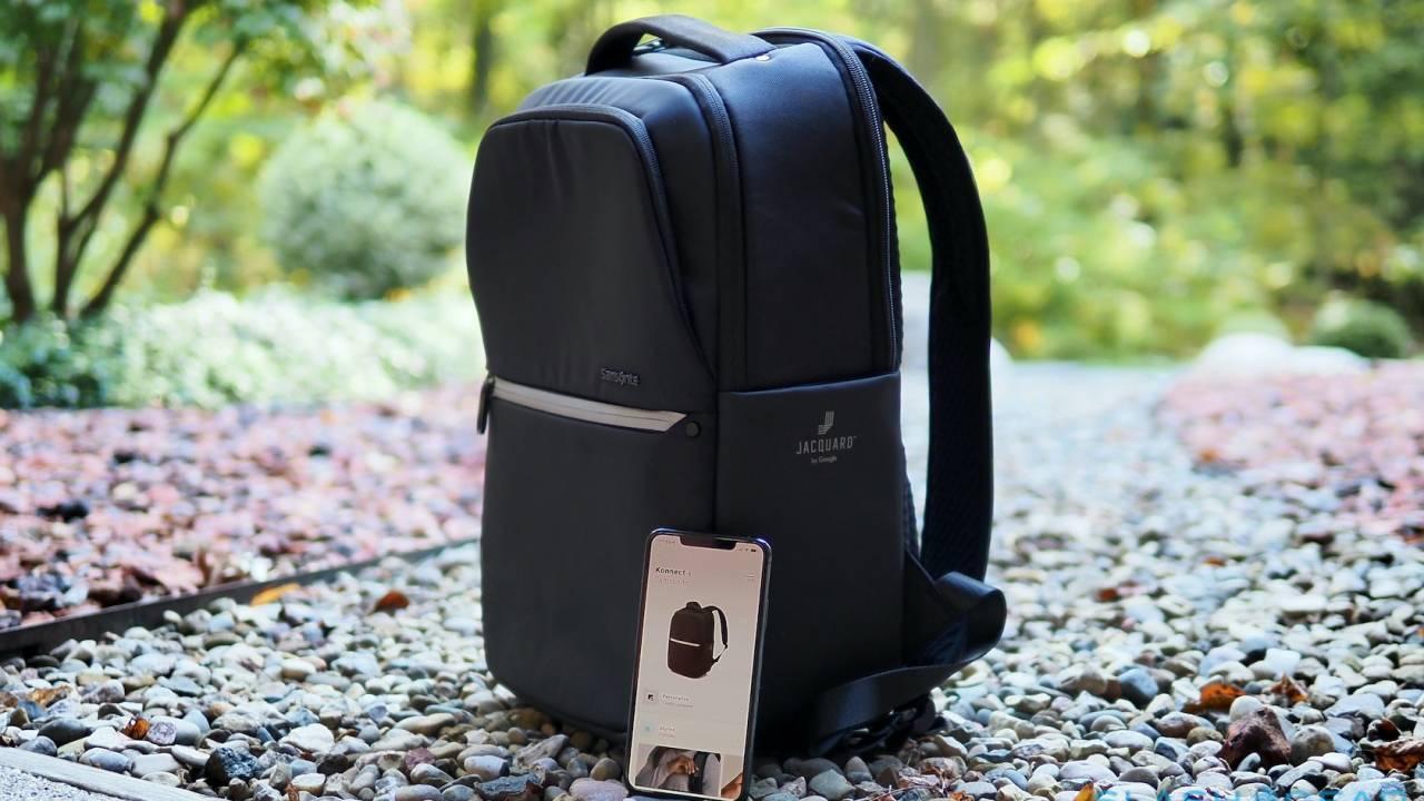 Samsonite Konnect-i Backpack with Google Jacquard Review – A strokable smart bag