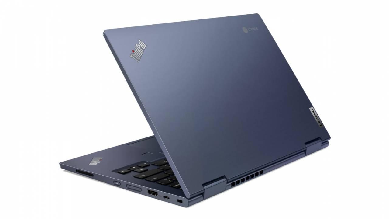 Lenovo ThinkPad C13 Yoga Chromebook Enterprise arrives in striking Abyss Blue