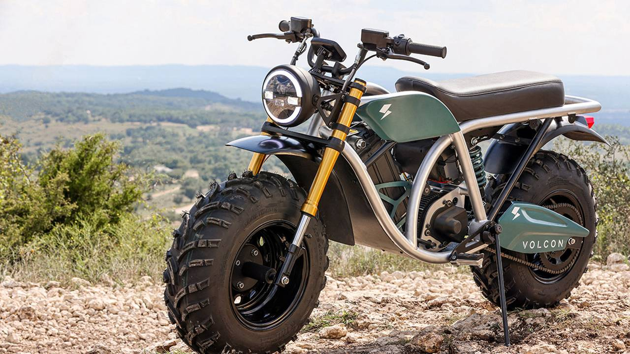 Volcon Grunt electric motorcycle can ride 100 miles per charge