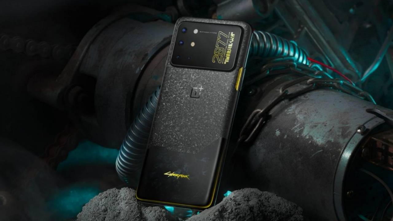 OnePlus 8T Cyberpunk 2077 Edition has an ironic camera bump