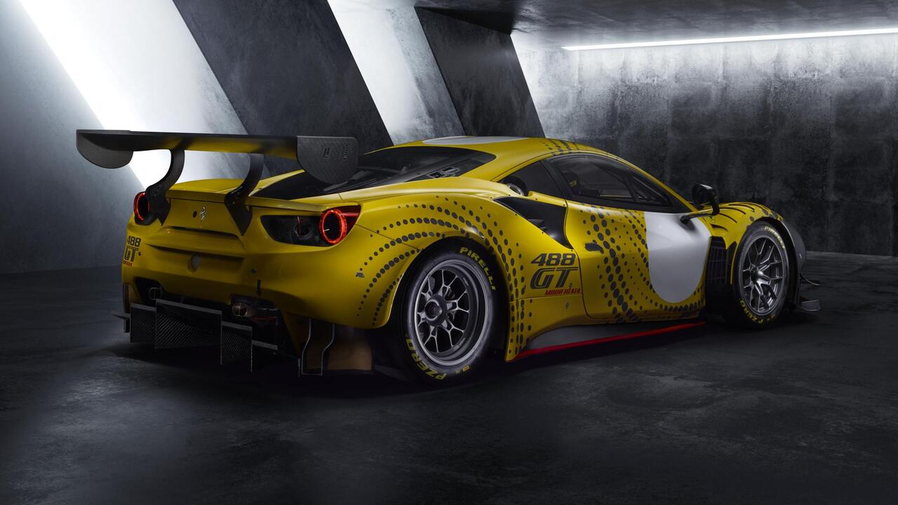 Ferrari 488 GT Modificata: Raising the Checkered Flag
