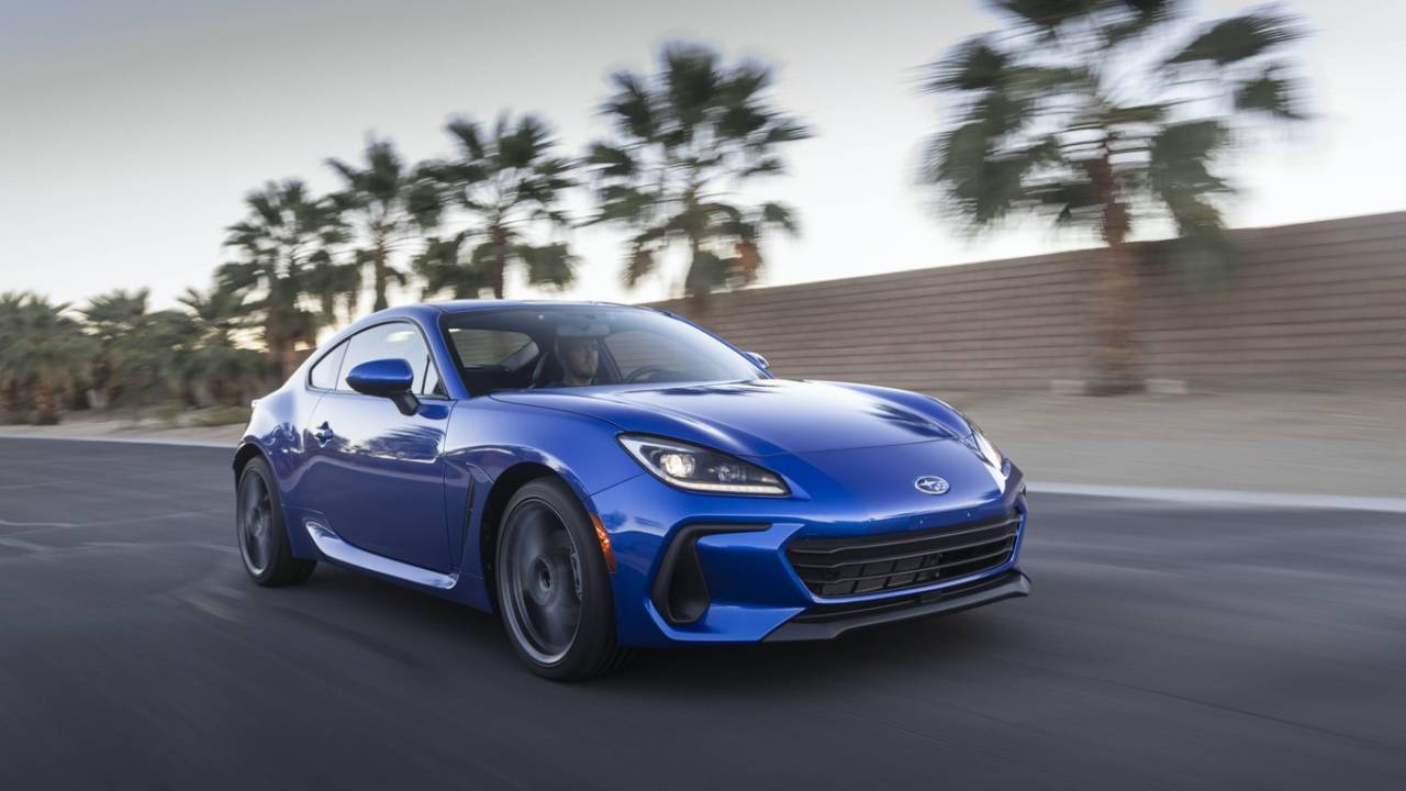 2022 Subaru BRZ cranks up power and style for affordable sports star