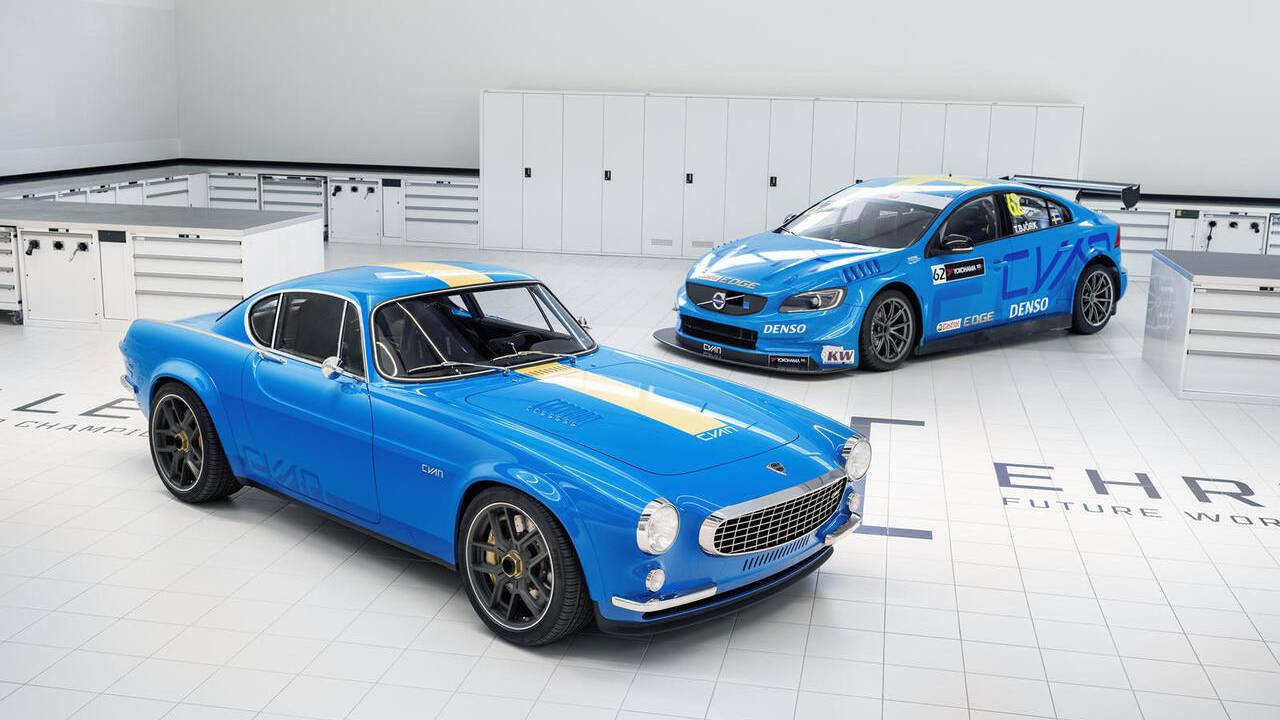 This Volvo P1800 Cyan is a restomodder's dream come true