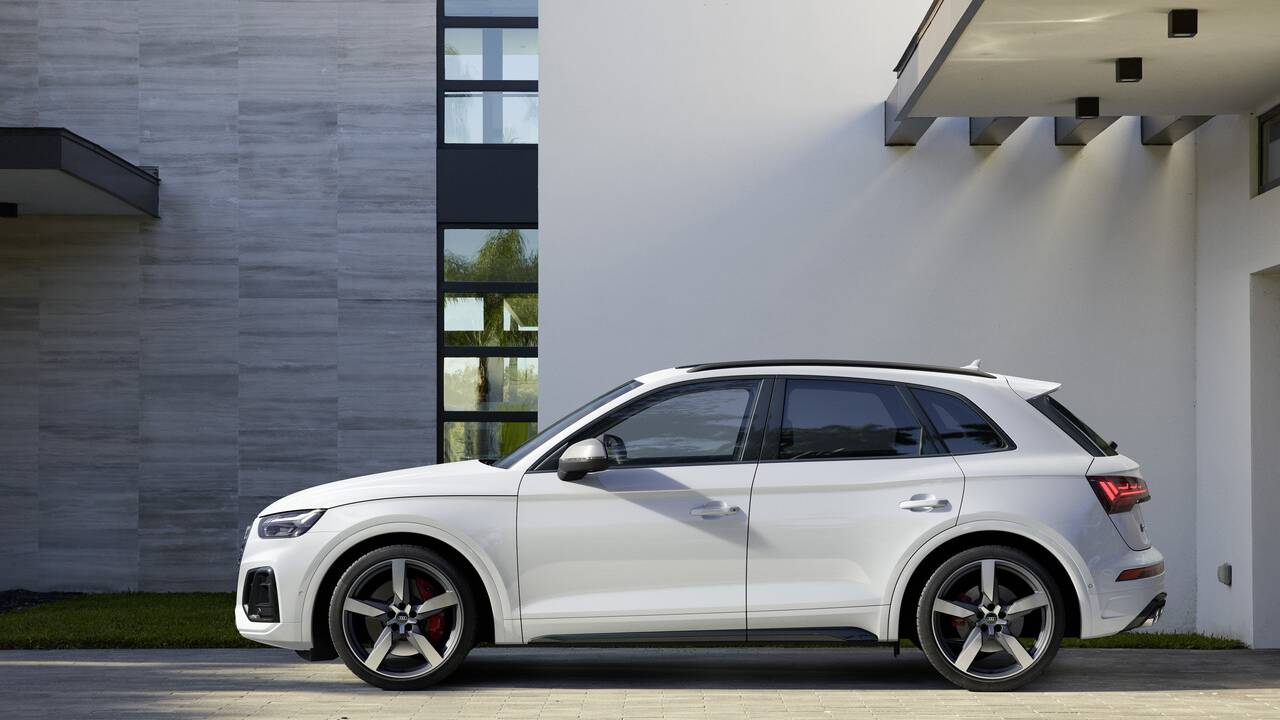 2021 Audi SQ5 TDI has a 337HP turbodiesel V6 mill