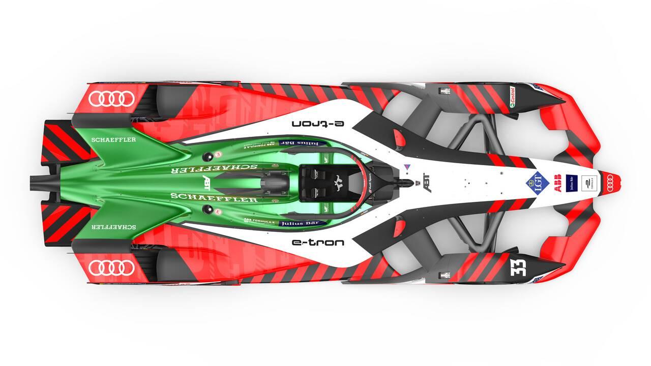 Audi Sport unveils e-tron FE07 Formula E racing car