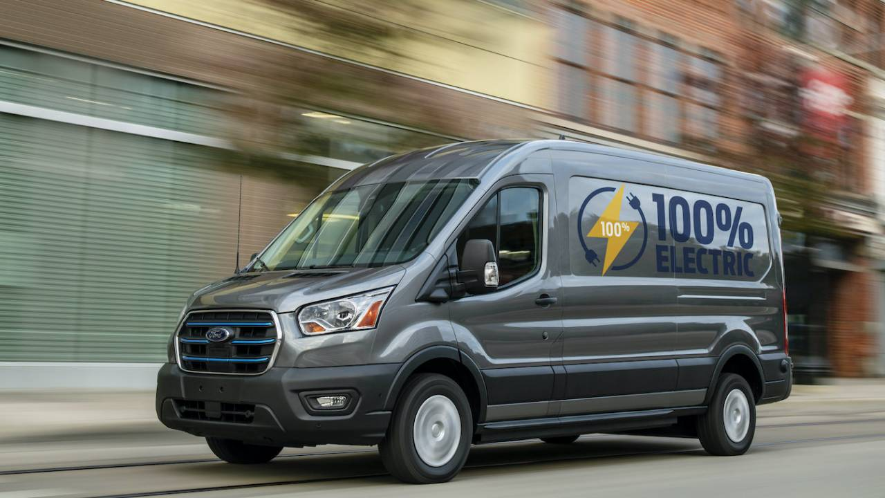 2022 Ford E-Transit electric van revealed – Range, tech and price
