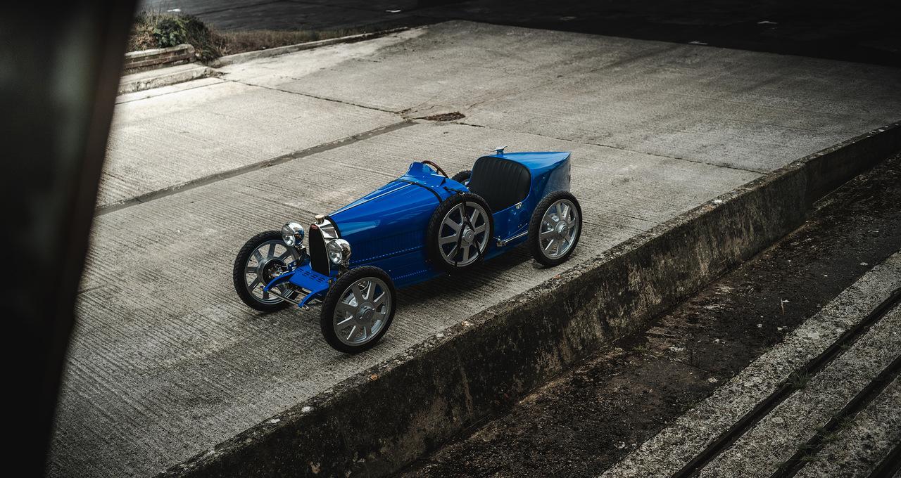 Bugatti and the Little Car Company's Baby II debuts in North America
