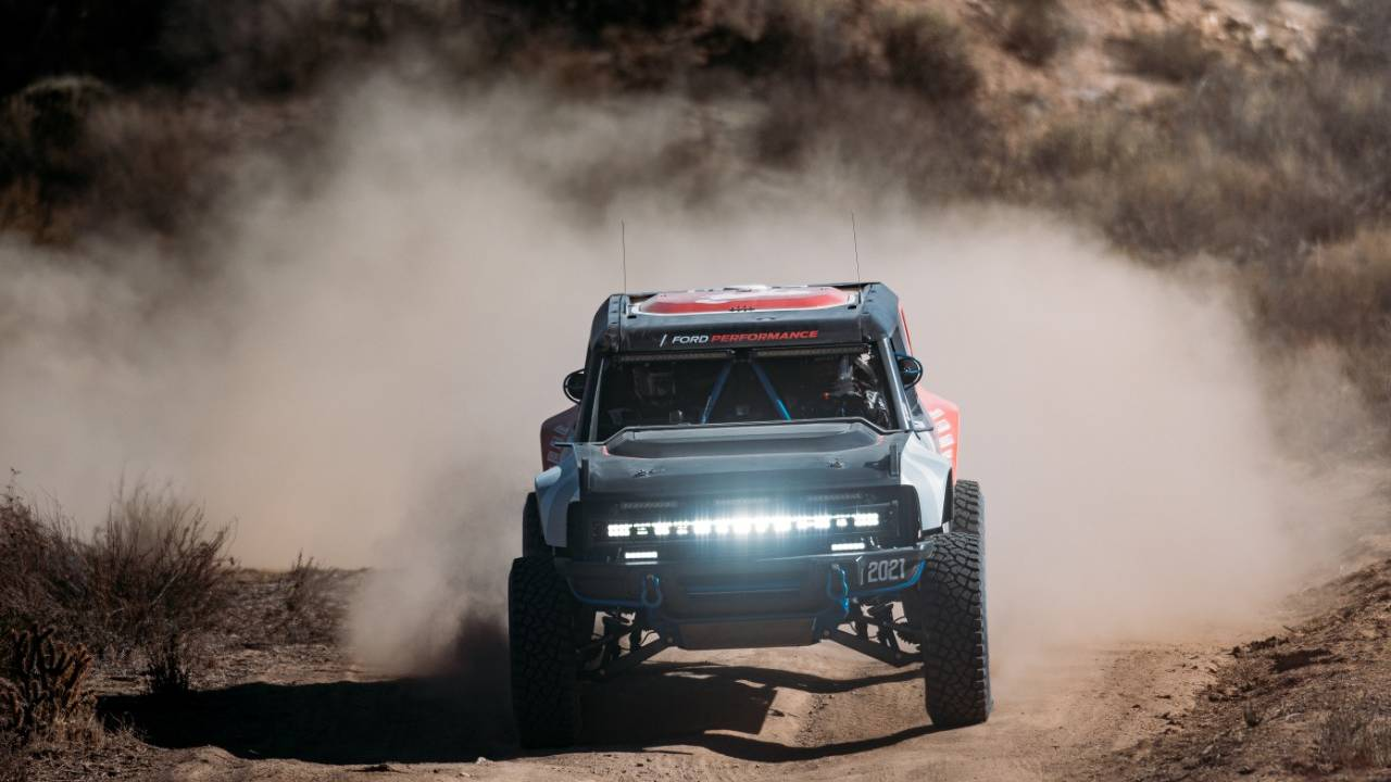 Ford Bronco R conquers the 2020 Baja 1000