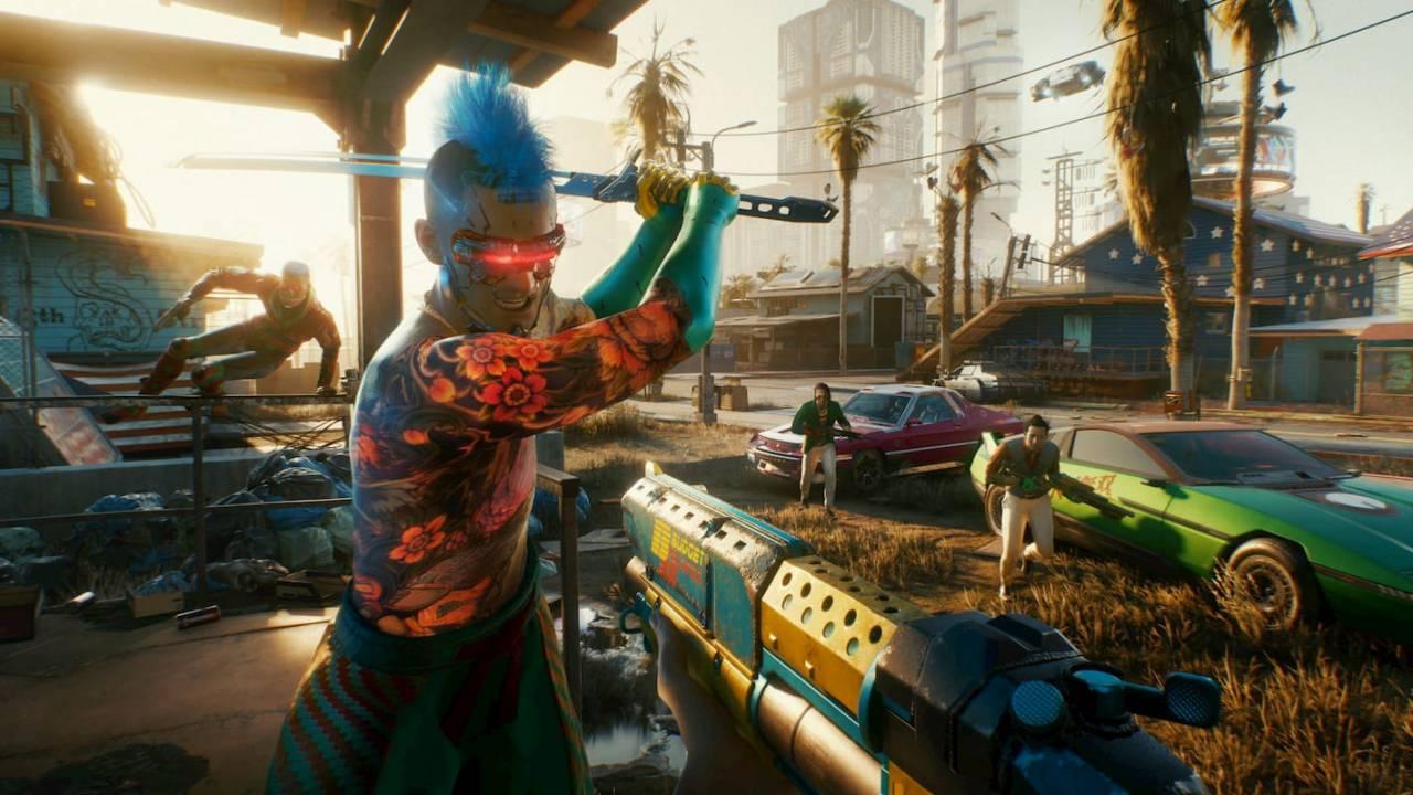 Watch Cyberpunk 2077 running on Xbox Series X and Xbox One X