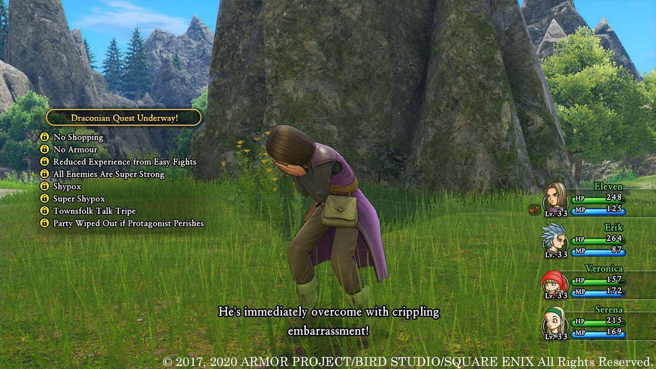 Dragon Quest XI S free demo promises 10 hours of gameplay