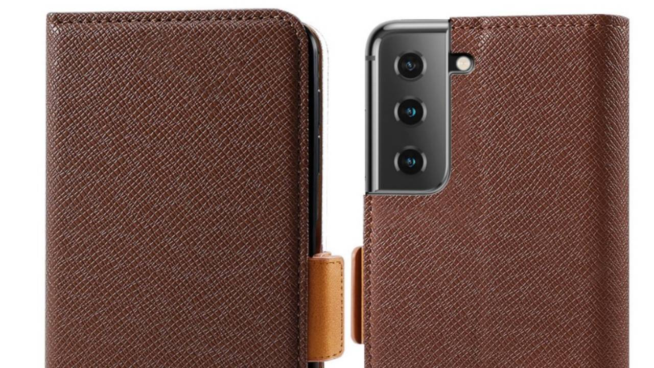 Galaxy S21 and S21 Ultra cases leak, emphasizing the odd design